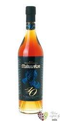 """Malteco """" Aňejo Suave """" aged 10 years rum of Guatemala 40.5% vol.  0.70 l"""