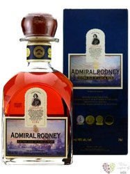 "Admiral Rodney "" Extra Old "" aged rum of St.Lucia 40% vol.     0.70 l"