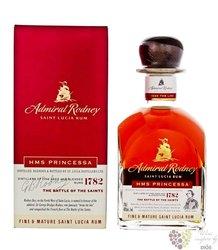 "Admiral Rodney "" HMS Princessa "" aged Saint Lucia rum 40% vol. 0.70 l"