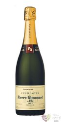 "Pierre Gimonnet & fils blanc 2005 "" Gastronome "" brut 1er cru Champagne  0.75 l"