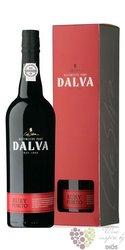 """Dalva """" fine Ruby """" gift box Porto Doc by C.da Silva 20% vol.  0.75 l"""
