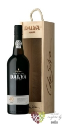 Dalva 40 years old wood aged tawny Porto Doc 20% vol.    0.75 l