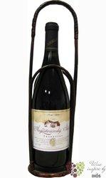 Wicker handbasket ( Proutěný košík ) for 1 bottle 0.75 l