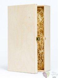 Dřevěná kazeta nemořená na 2 lh vína 0.75 l