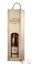 Dřevěná krabička oblouková na 1 lahev vína z vinařství U Kapličky