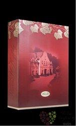 Papírový nosič na 3 lahve vína z vinařství U Kapličky