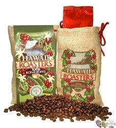 "Pure Kona "" Dark roast "" whole beans Premium High Quality coffee by Hawai Roasters    200g"