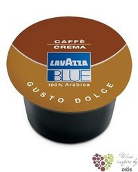 "Lavazza Blue "" Cafe Crema Gusto Dolce "" Italian 100% Arabica coffee capsule    100pc"