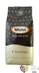 "Bristot "" Cortina "" whole beans Italian coffee    1.00 kg"