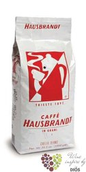 "Hausbrandt "" Rossa "" whole beans Italian coffee    1.00 kg"