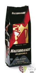 "Hausbrandt "" Academia "" whole beans Italian coffee    1.00 kg"