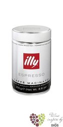 "Illy "" Dark "" ground Italian coffee in metal box    250 g"