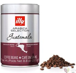 "Illy Arabica Selection "" Guatemala "" special edition of whole coffee beans  250 g"