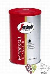 """Segafredo """" Espresso Classico """" ground Italian coffee     250 g"""
