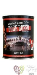"Caffe del Doge "" Rosso "" ground 100% Arabica italian coffee in metal box 250 g"