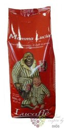 "Lucaffe "" Mamma Lucia "" whole beans Italian coffee 1.00 kg"