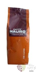 "Mauro Caffe "" De Luxe "" whole beans Italian coffee 1.00 kg"