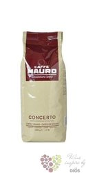 "Mauro Caffe "" Concerto "" whole beans Italian coffee 1.00 kg"
