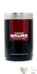 "Mauro Caffe "" Centopercen "" ground 100% Arabica Italian coffee in metal box 250g"