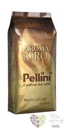 """Pellini """" Aroma Oro """" whole beans Italian coffee 1.00 kg"""