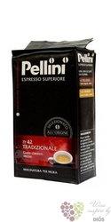 """Pellini """" Espresso n°42 Tradizionale """" ground Italian coffee 250 g"""