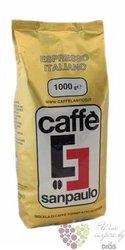 "Sanpaulo Caffe "" ORO "" whole beans Italian coffee 1.00 kg"