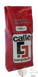 "Sanpaulo Caffe "" Red "" whole beans Italian coffee 1.00 kg"