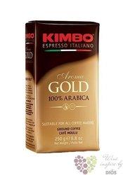 "Kimbo"" Aroma Gold"" ground 100% Arabica Italian coffee 250 g"