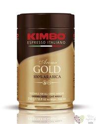 "Kimbo "" Aroma Gold"" ground Italian 100% Arabica coffee doza 250 g"