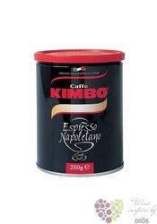 "Kimbo ""Espresso Napoletano"" ground Italian coffee doza 250 g"