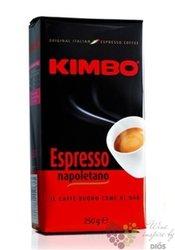 "Kimbo ""Espresso Napoletano"" whole beans Italian coffee 250 g"