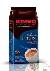 "Kimbo "" Aroma Intenso"" whole beans Italian coffee 250 g"
