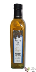 """Aceto di vino """" Trebbiano """" casa Rinaldi   250 ml"""