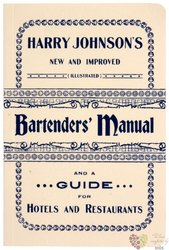 Bartender´s Manual by Harry Johnson