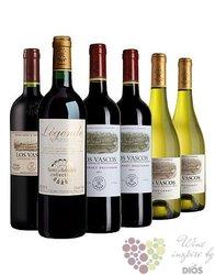 Kolekce vybraných světových vín vinařství Domaines Barons de Rothschild Lafite 6 x 0.75 l