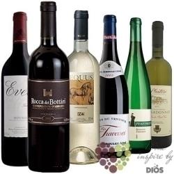 """Kolekce vybraných vín v ceně do 200 kč"""" Price x Quality I """"       6 x 0.75 l"""