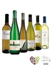"""Kolekce vybraných bílých vín v ceně do 200 kč"""" Price x Quality I """"       6 x 0.75 l"""