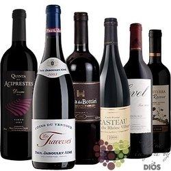 """Kolekce vybraných červených vín do 200 kč """" Price x Quality II """"       6 x 0.75l"""