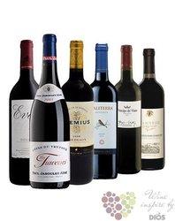 """Kolekce vybraných červených vín do 200 kč """" Price x Quality I """"       6 x 0.75 l"""