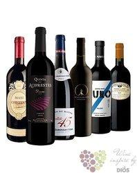 """Kolekce vybraných červených vín do 300 kč """" Price x Quality I """"       6 x 0.75 l"""