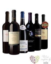 """Kolekce vybraných červených vín do 500 kč """" Price x Quality I """"       6 x 0.75 l"""
