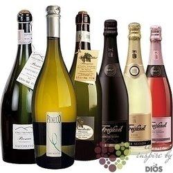 """Kolekce vybraných světových šumivých vín """" Sparkling II """"    6 x 0.75 l"""