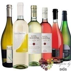"""Kolekce vín podle chuti """" Refreshing I """" karton vybraných osvěžujících vín    6x 0.75 l"""