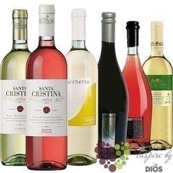 """Kolekce vín podle chuti """" Refreshing II """" karton vybraných osvěžujících vín    6 x 0.75 l"""