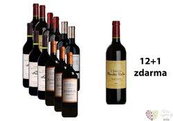 Francie Bordeaux 12+1 lahev za jedinou korunu