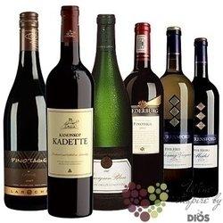"""Kolekce podle zemí """" JAR """" karton vybraných jihoafrických vín    6 x 0.75 l"""