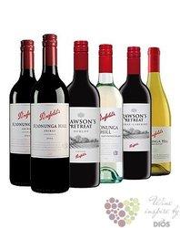 Kolekce vybraných australských vín vinařství Penfolds     6 x 0.75 l