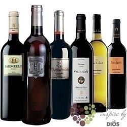 """Kolekce podle zemí """" Spain """" karton vybraných španělských vín    6 x 0.75 l"""