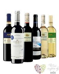 Kolekce vybraných španělských vín z vinařské oblasti Rioja    6 x 0.75 l