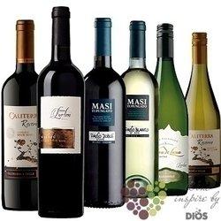"""Kolekce podle kontinentů """" South America I """" karton vybraných jihoamerických vín    6 x 0.75 l"""